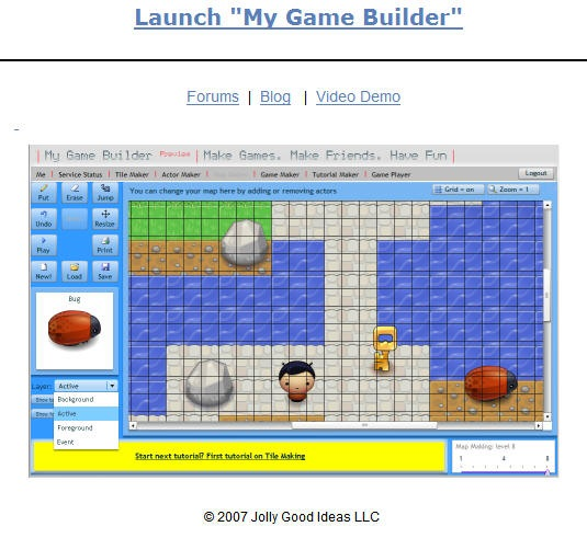My Game Builder