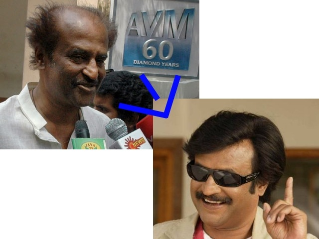 Rajnikanth After Makeup