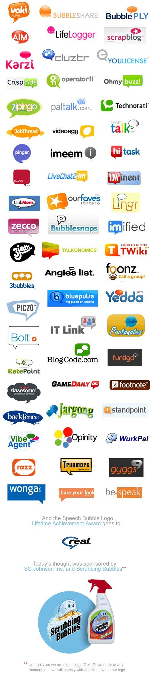 bubbly logos