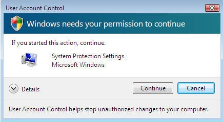Vista User Account Control