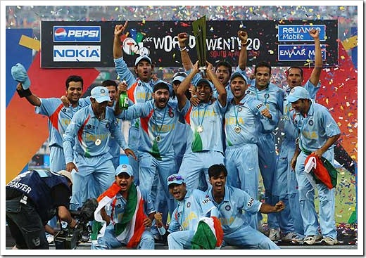India wins t20 world cup