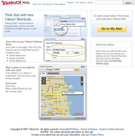 New Yahoo! Mail
